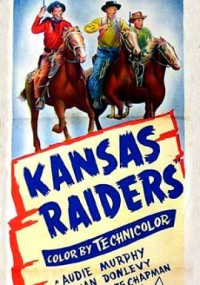 Kansas Raiders (1950) plakat
