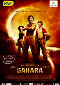 Sahara (2005) plakat