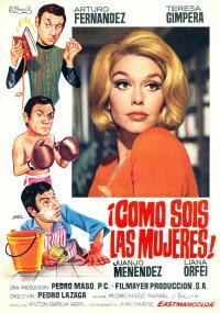 ¡Cómo sóis las mujeres! (1968) plakat