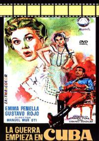 La Guerra empieza en Cuba (1957) plakat