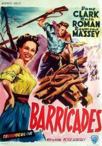 Barricade (1950) plakat