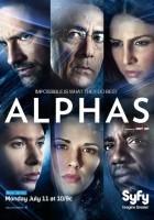 plakat - Alphas (2011)