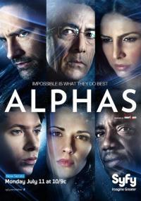Alphas (2011) plakat