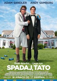 Spadaj, tato (2012) plakat
