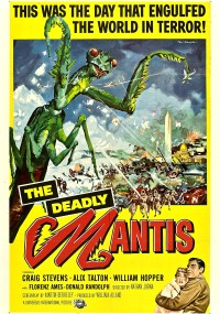Zabójcza modliszka (1957) plakat