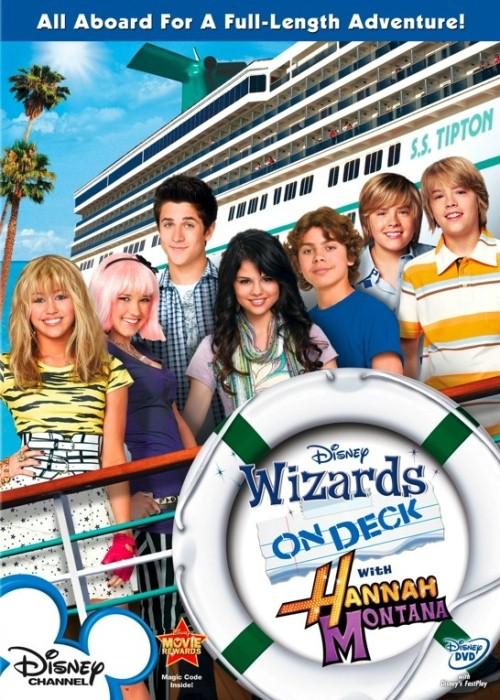 Czarodzieje z Nie ma to jak statek i Hannah Montana
