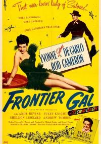 Frontier Gal (1945) plakat