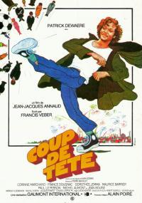 Coup de tête (1979) plakat
