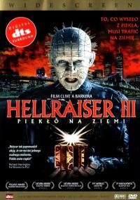 Hellraiser III: Piekło na ziemi (1992) plakat