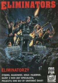 Eliminatorzy (1986) plakat