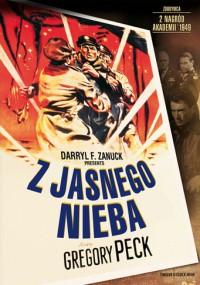 Z jasnego nieba (1949) plakat