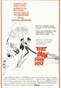 Człowiek z Rio (1964) plakat
