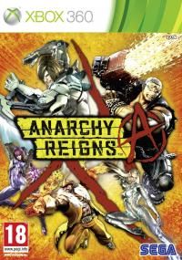 Anarchy Reigns (2012) plakat