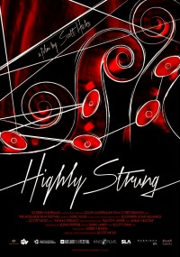 Highly Strung (2015) plakat