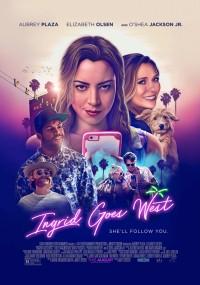 Ingrid wyrusza na zachód (2017) plakat