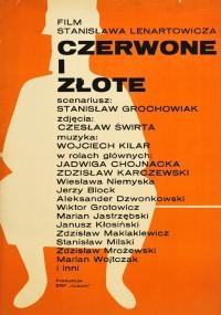 Czerwone i złote (1969) plakat