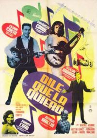 Dile que la quiero (1963) plakat