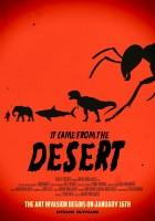 plakat - To przychodzi z mroku pustyni (2017)