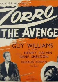 Zorro, the Avenger (1959) plakat