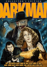 Człowiek ciemności (1990) plakat