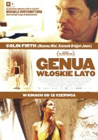plakat - Genua. Włoskie lato (2008)