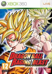 Dragon Ball: Raging Blast (2009) plakat