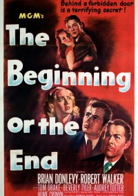 The Beginning or the End (1947) plakat
