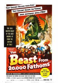 Bestia z głębokości 20.000 sążni (1953) plakat
