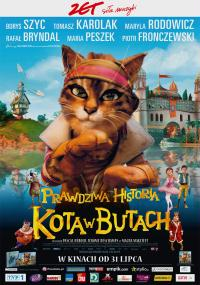 Prawdziwa historia Kota w Butach (2009) plakat
