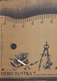 Debiutantka (1981) plakat
