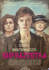 Sufrażystka (2015) plakat