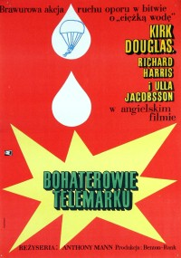 Bohaterowie Telemarku (1965) plakat