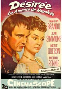 Desirée (1954) plakat