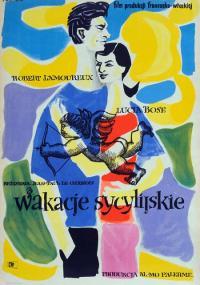 Wakacje sycylijskie (1955) plakat