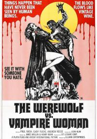 Wilkołak kontra kobieta-wampir