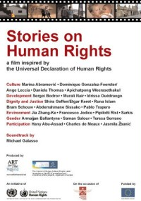 Stories on Human Rights (2008) plakat