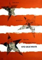 plakat - Kto sieje wiatr (1960)