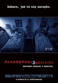 Paranormal Activity 3 (2011) plakat