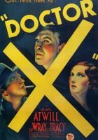 plakat - Doctor X (1932)