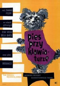 Pies przy klawiaturze (1959) plakat