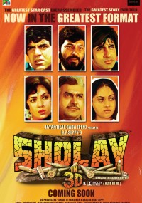 Sholay (1975) plakat