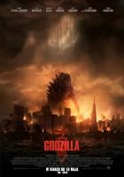 plakat - Godzilla (2014)