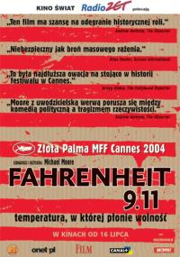 Fahrenheit 9.11 (2004) plakat