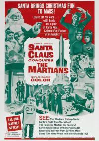 Święty Mikołaj wyrusza na podbój Marsa