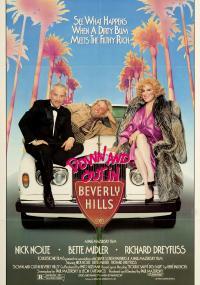 Włóczęga z Beverly Hills (1986) plakat