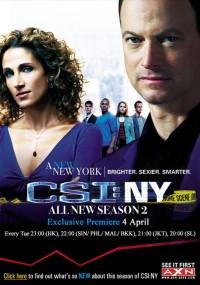 CSI: Kryminalne zagadki Nowego Jorku (2004) plakat