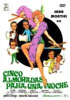 plakat - Cinco almohadas para una noche (1974)