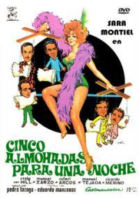 Cinco almohadas para una noche (1974) plakat