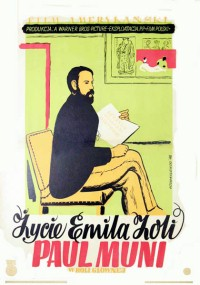 Życie Emila Zoli (1937) plakat