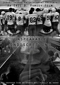 Unspeakable Indiscretions (2014) plakat